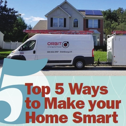 Top 5 Ways to Make your Home Smart