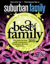 Suburban Family Magazine November 2011 Issue